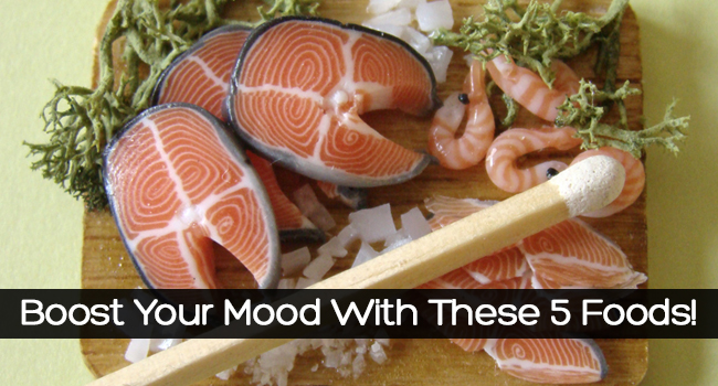 5 Mood Boosting Foods