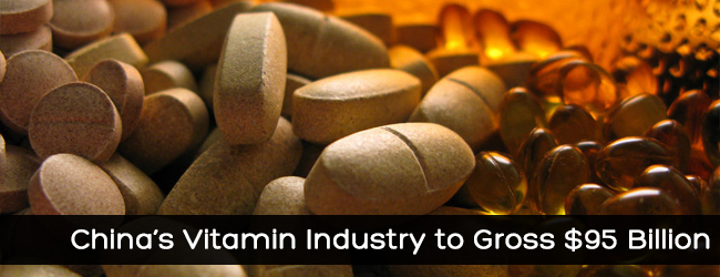 China's Vitamin Industry to Gross $95 Billion