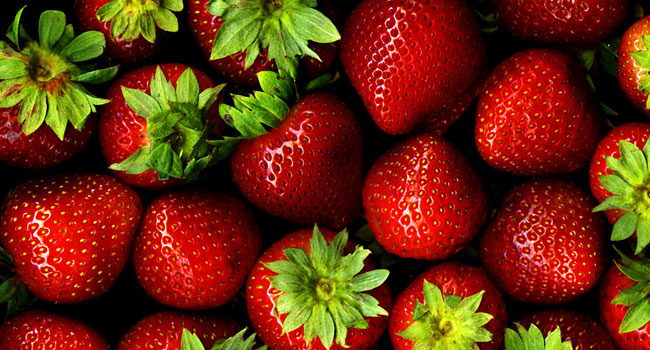 Strawberries in high antioxidant diet