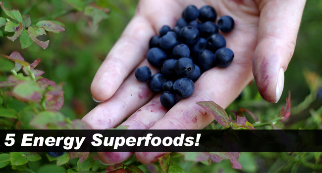 5 Energy Superfoods