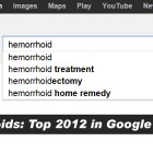 Hemorrhoids: Top 2012 in Google Searches