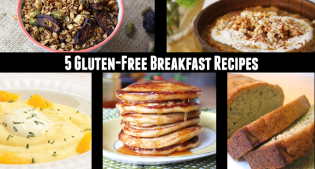 5 Gluten Free Breakfast Recipes